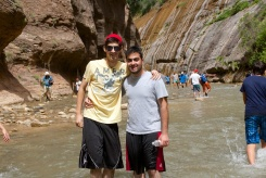 Zion hike - 13