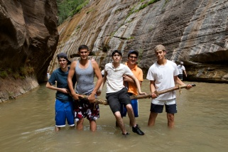 Zion hike - 15