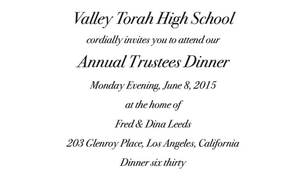Trustees Invitation image